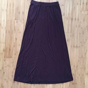 H&M Basic Maxi Skirt